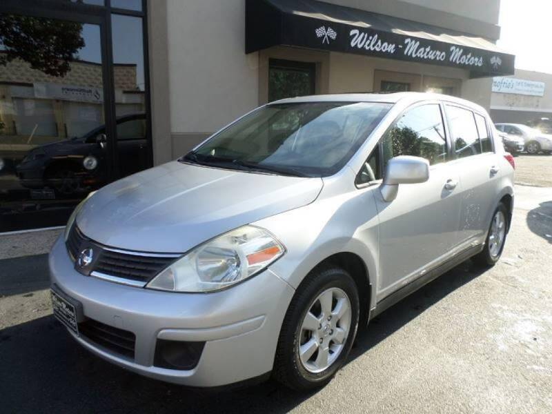 2007 Nissan Versa for sale at Wilson-Maturo Motors in New Haven CT