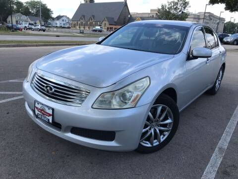 2007 Infiniti G35 for sale at Your Car Source in Kenosha WI