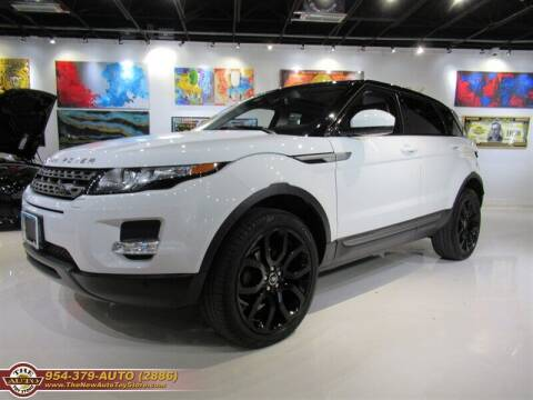 2014 Land Rover Range Rover Evoque for sale at The New Auto Toy Store in Fort Lauderdale FL