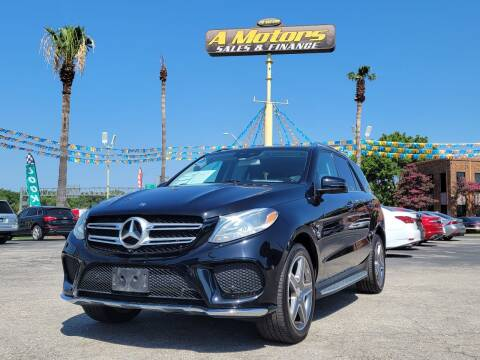 2016 Mercedes-Benz GLE for sale at A MOTORS SALES AND FINANCE in San Antonio TX