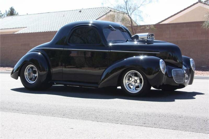 1940 Willys 2 Door Coupe for sale at HIGH-LINE MOTOR SPORTS in Brea CA