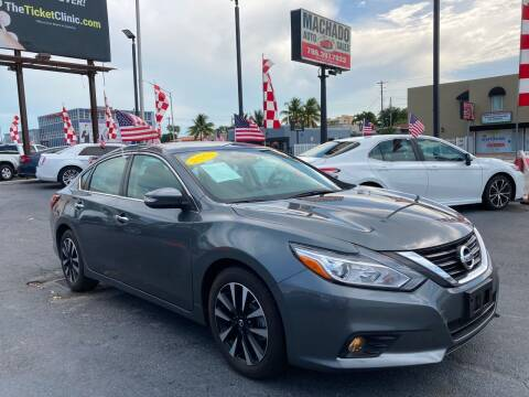 2018 Nissan Altima for sale at MACHADO AUTO SALES in Miami FL