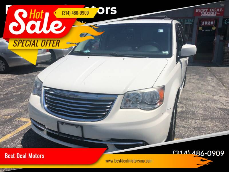 2013 Chrysler Town and Country for sale at Best Deal Motors in Saint Charles MO