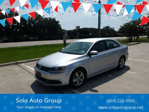 2014 Volkswagen Jetta for sale at Solo Auto Group in Mckinney TX