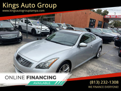 2013 Infiniti G37 Coupe for sale at Kings Auto Group in Tampa FL