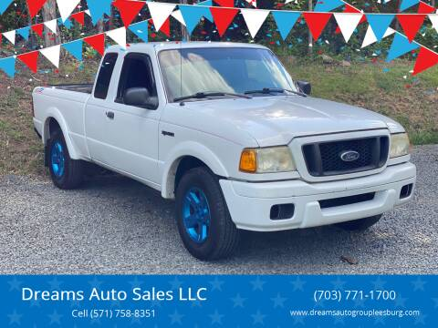 2005 Ford Ranger for sale at Dreams Auto Sales LLC in Leesburg VA