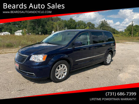 2016 Chrysler Town and Country for sale at Beards Auto Sales in Milan TN
