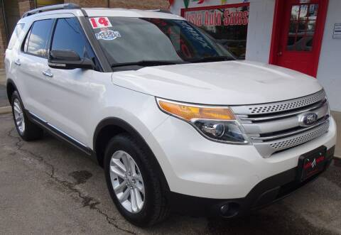 2014 Ford Explorer for sale at VISTA AUTO SALES in Longmont CO