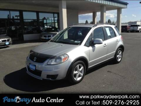 2007 Suzuki SX4 Crossover for sale at PARKWAY AUTO CENTER AND RV in Deer Park WA