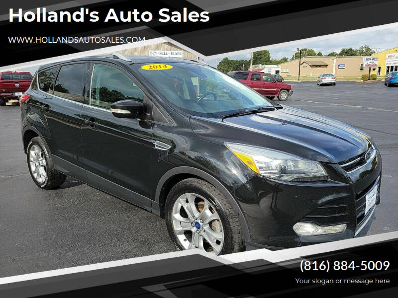 2014 Ford Escape for sale at Holland's Auto Sales in Harrisonville MO