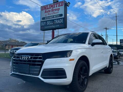 2018 Audi Q5 for sale at Unlimited Auto Group in West Chester OH