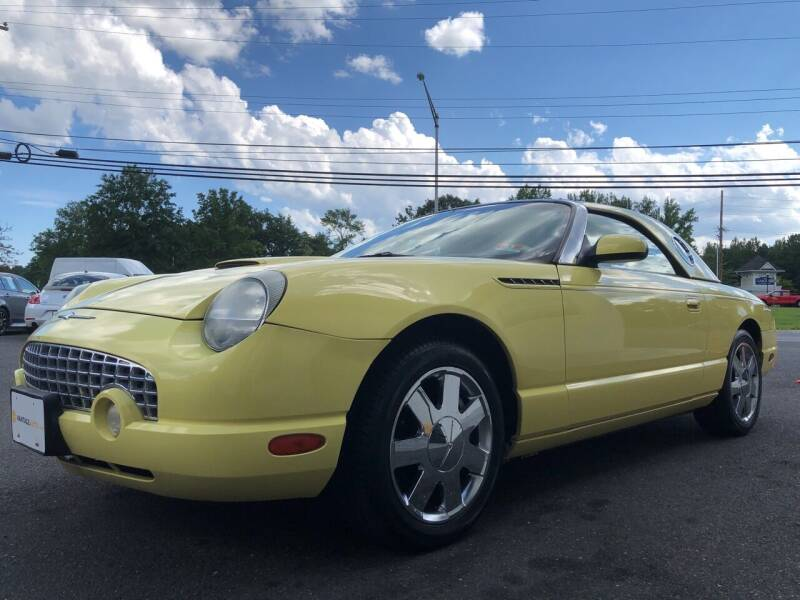 2002 Ford Thunderbird for sale at Vantage Auto Group in Tinton Falls NJ