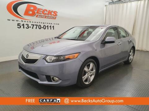2011 Acura TSX for sale at Becks Auto Group in Mason OH