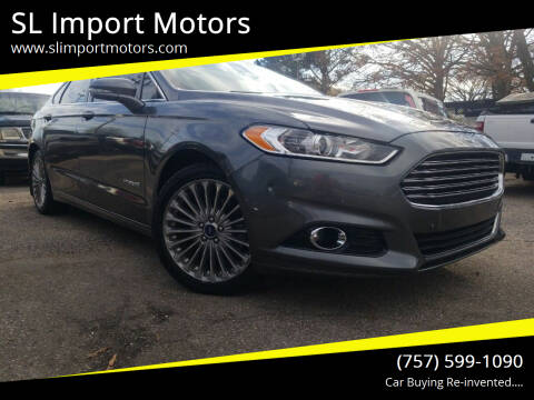 2014 Ford Fusion Hybrid for sale at SL Import Motors in Newport News VA
