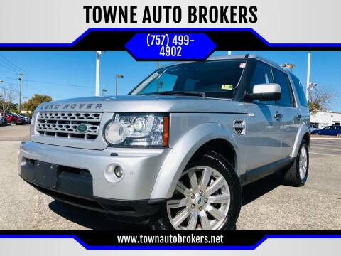 2012 Land Rover LR4 for sale at TOWNE AUTO BROKERS in Virginia Beach VA