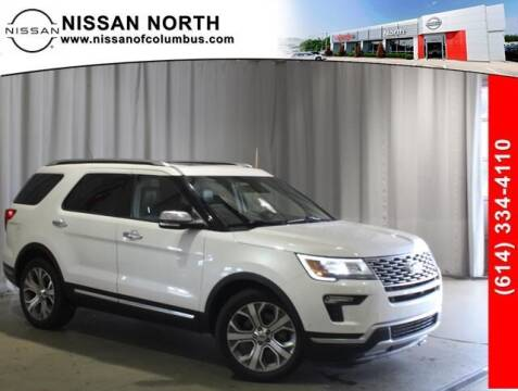 2018 Ford Explorer for sale at Auto Center of Columbus in Columbus OH