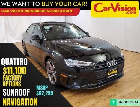 2019 Audi S4 for sale at Car Vision Mitsubishi Norristown in Trooper PA