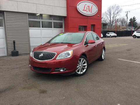 2012 Buick Verano for sale at Legend Motors of Waterford - Legend Motors of Detroit in Detroit MI