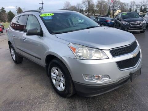 2011 Chevrolet Traverse for sale at Newcombs Auto Sales in Auburn Hills MI