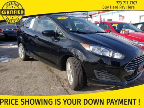 2019 Ford Fiesta for sale at AutoBank in Chicago IL