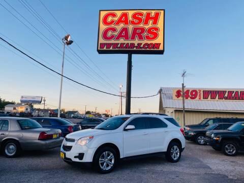 2012 Chevrolet Equinox for sale at www.CashKarz.com in Dallas TX