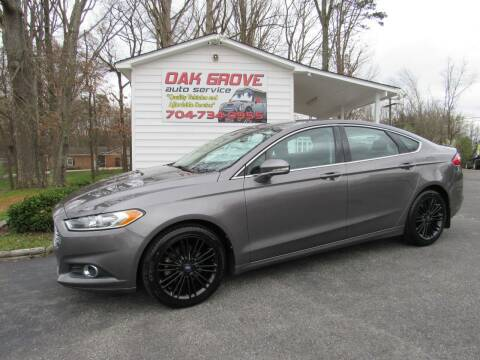 2013 Ford Fusion for sale at Oak Grove Auto Sales in Kings Mountain NC