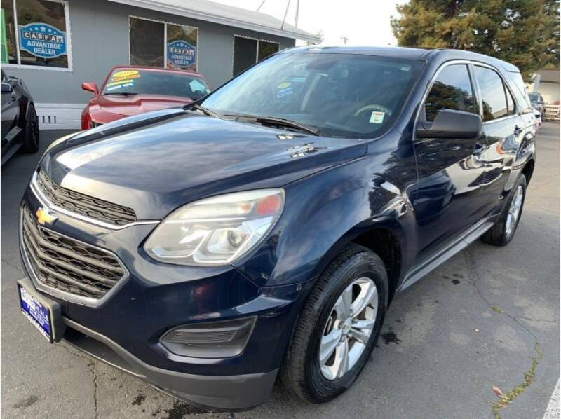 2017 Chevrolet Equinox for sale at AutoDeals in Hayward CA