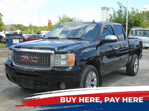 2013 GMC Sierra 1500 for sale at J & F AUTO SALES in Houston TX