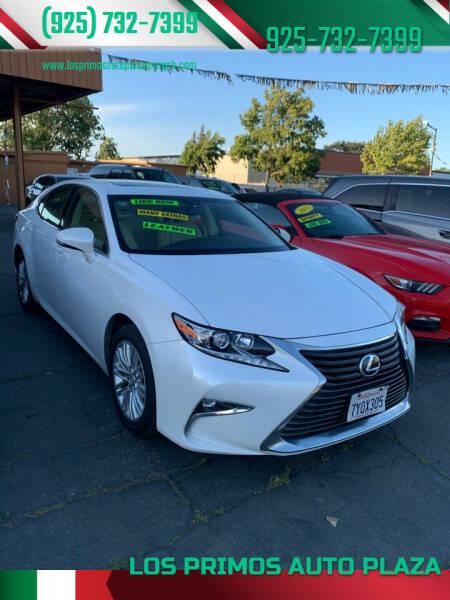 2016 Lexus ES 350 for sale at Los Primos Auto Plaza in Antioch CA
