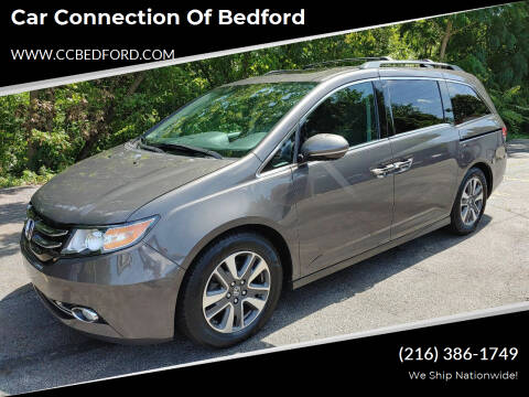 2014 Honda Odyssey for sale at Car Connection of Bedford in Bedford OH