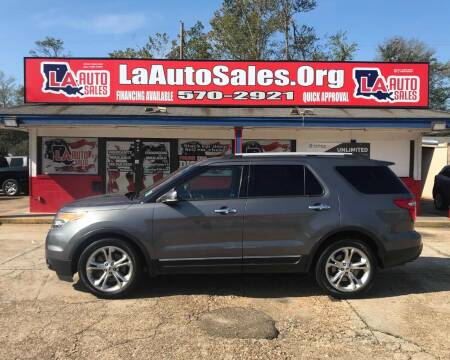 2013 Ford Explorer for sale at LA Auto Sales in Monroe LA