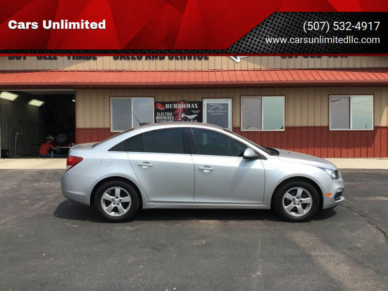 2016 Chevrolet Cruze Limited for sale at Cars Unlimited in Marshall MN