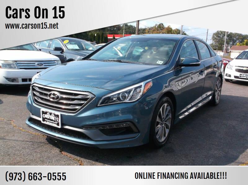 2017 Hyundai Sonata for sale at Cars On 15 in Lake Hopatcong NJ