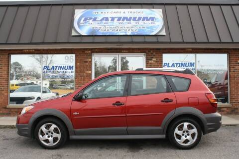 2007 Pontiac Vibe for sale at Platinum Auto World in Fredericksburg VA