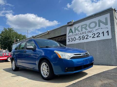 2011 Ford Focus for sale at Akron Motorcars Inc. in Akron OH