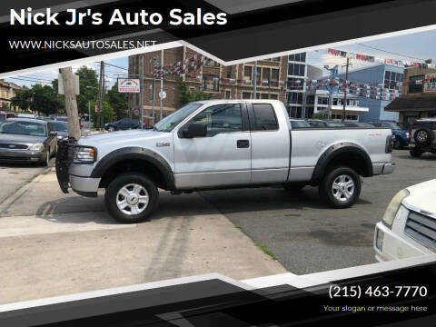2005 Ford F-150 for sale at Nick Jr's Auto Sales in Philadelphia PA