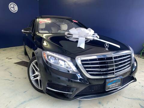 2015 Mercedes-Benz S-Class for sale at The Car House of Garfield in Garfield NJ