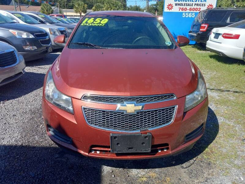 2012 Chevrolet Cruze for sale at Auto Mart - Dorchester in North Charleston SC