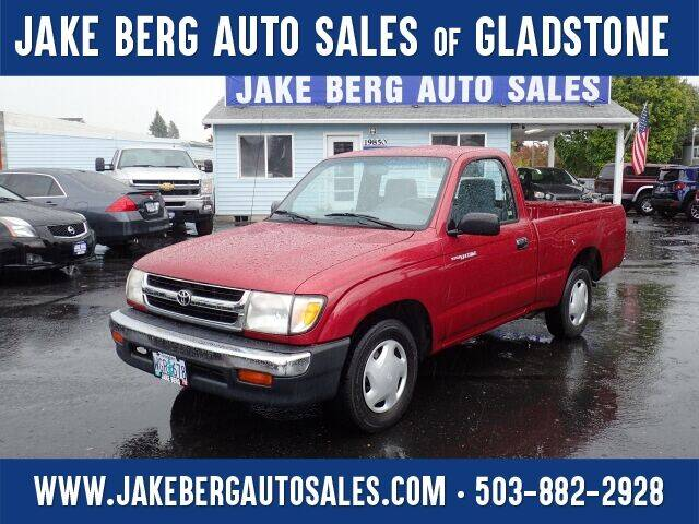 1998 Toyota Tacoma for sale at Jake Berg Auto Sales in Gladstone OR