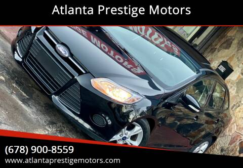 2014 Ford Focus for sale at Atlanta Prestige Motors in Decatur GA