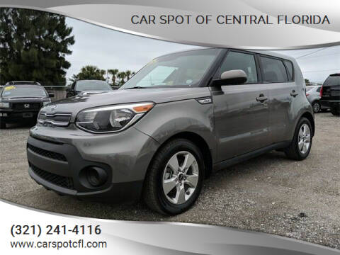 2018 Kia Soul for sale at Car Spot Of Central Florida in Melbourne FL