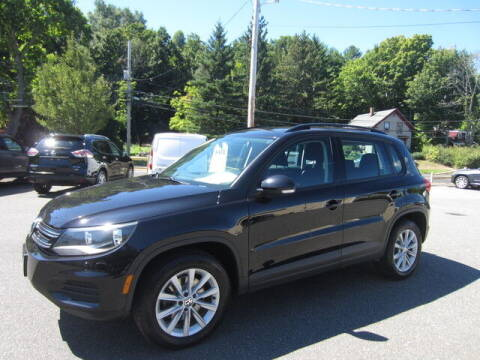 2017 Volkswagen Tiguan for sale at Auto Choice of Middleton in Middleton MA