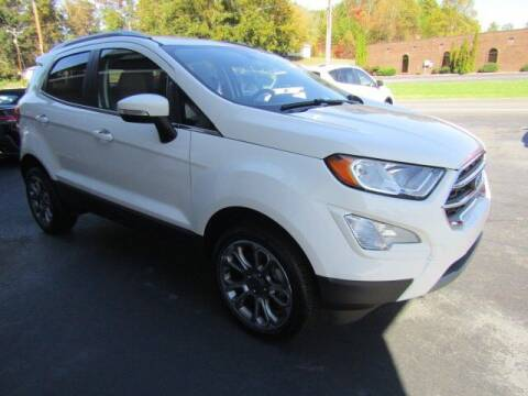 2018 Ford EcoSport for sale at Specialty Car Company in North Wilkesboro NC