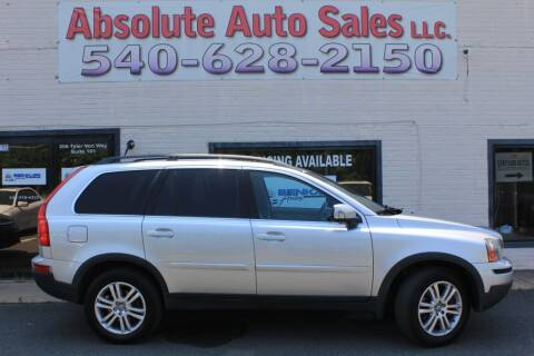 2008 Volvo XC90 for sale at Absolute Auto Sales in Fredericksburg VA