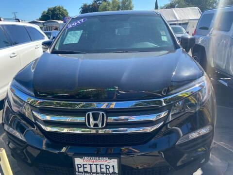 2017 Honda Pilot for sale at San Jose Auto Outlet in San Jose CA
