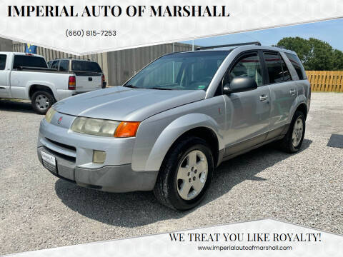 2004 Saturn Vue for sale at Imperial Auto, LLC in Marshall MO