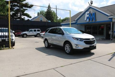 2018 Chevrolet Equinox for sale at F & M AUTO SALES in Detroit MI