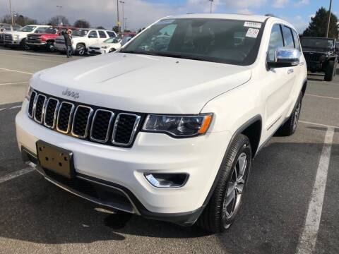 2017 Jeep Grand Cherokee for sale at SILVER ARROW AUTO SALES CORPORATION in Newark NJ