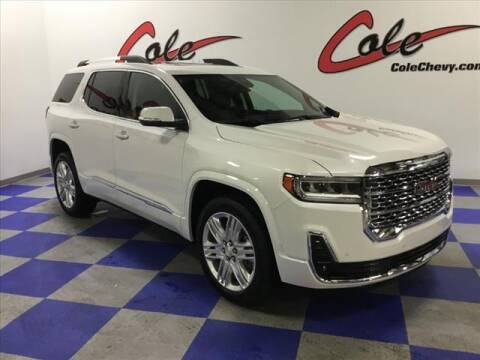2021 GMC Acadia for sale at Cole Chevy Pre-Owned in Bluefield WV