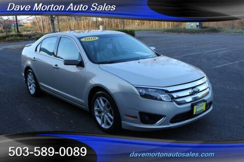 2010 Ford Fusion for sale at Dave Morton Auto Sales in Salem OR